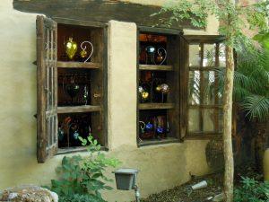 メキシコの素敵な窓枠